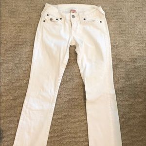 White True Religion Jeans, Vintage